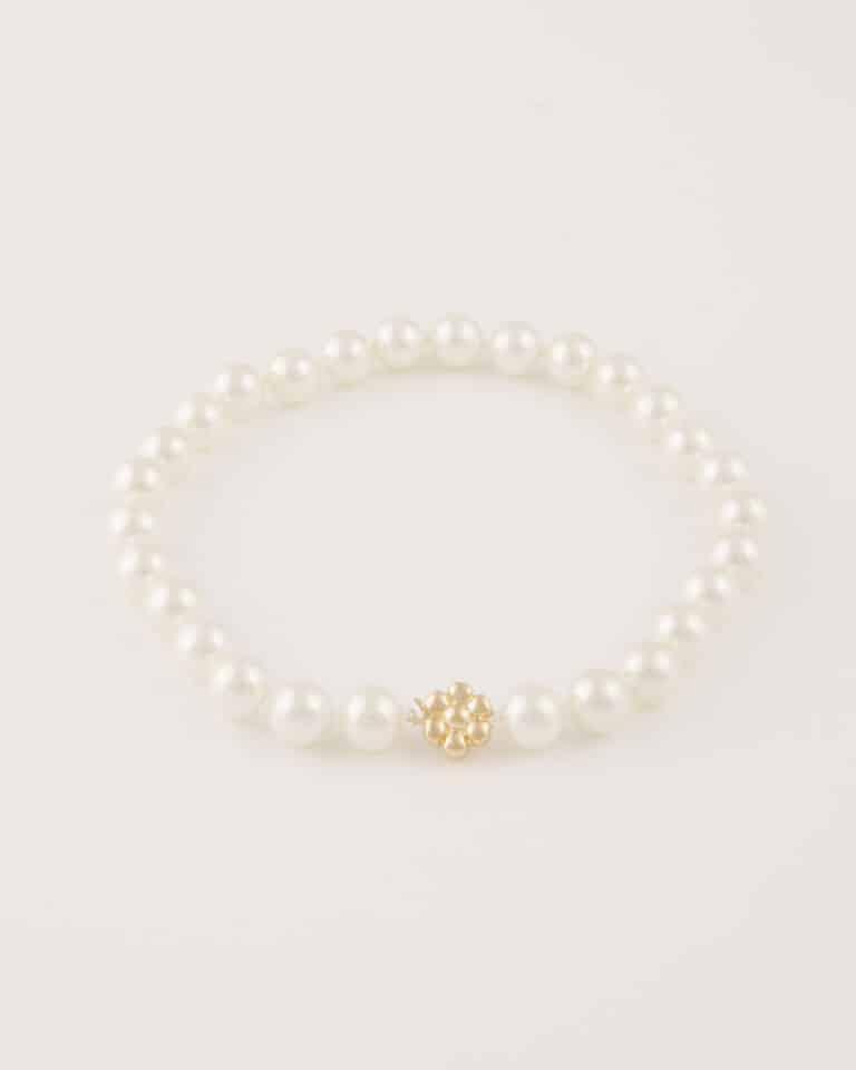Girocollo Perle Oro