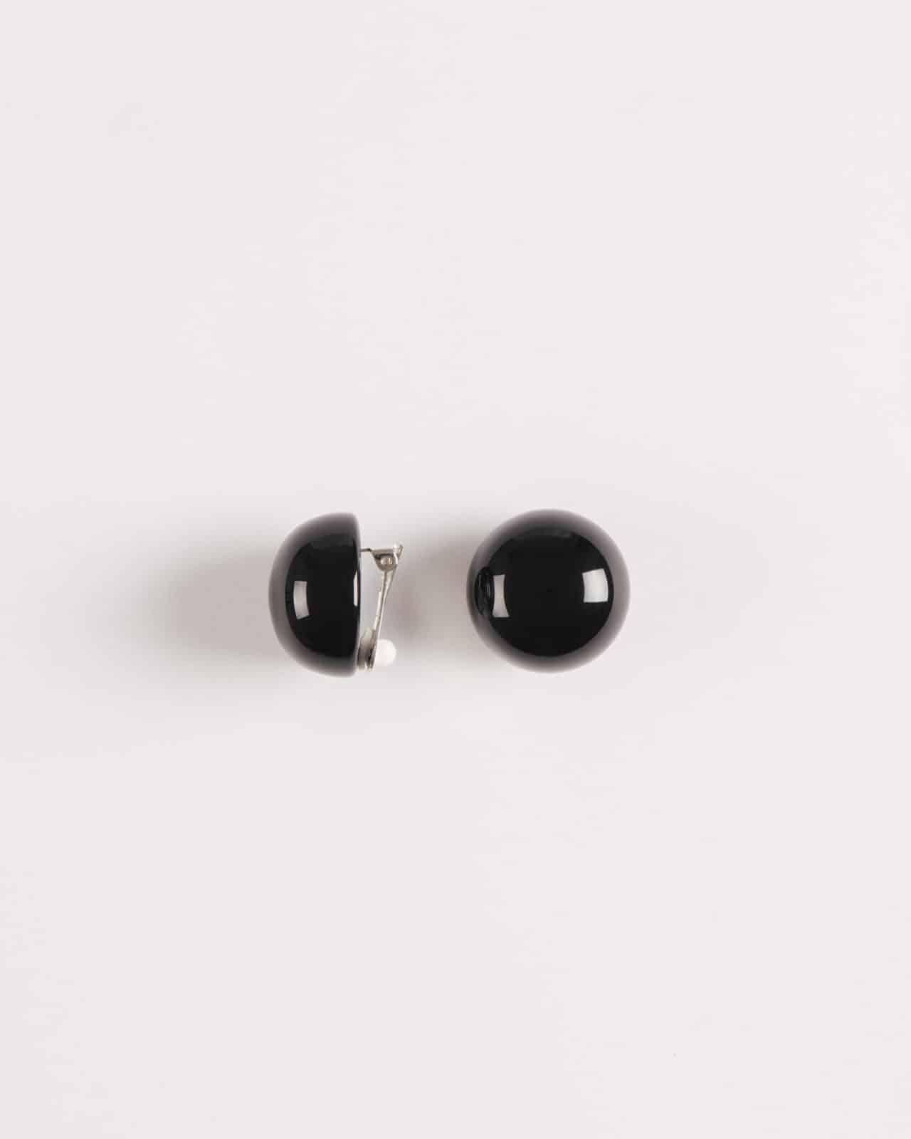 Orecchini bottone clip
