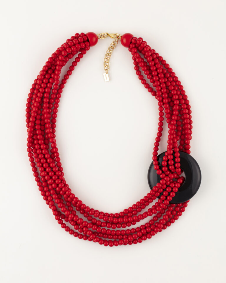 Collana lunga 8 fili