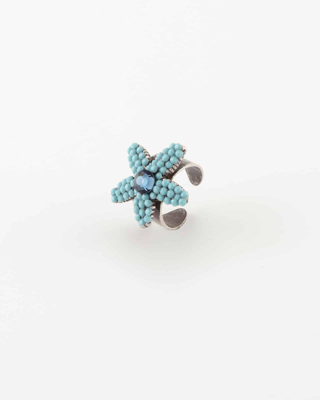 Anello regolabile stella marina