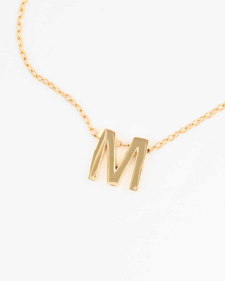 Girocollo lettera piccola M
