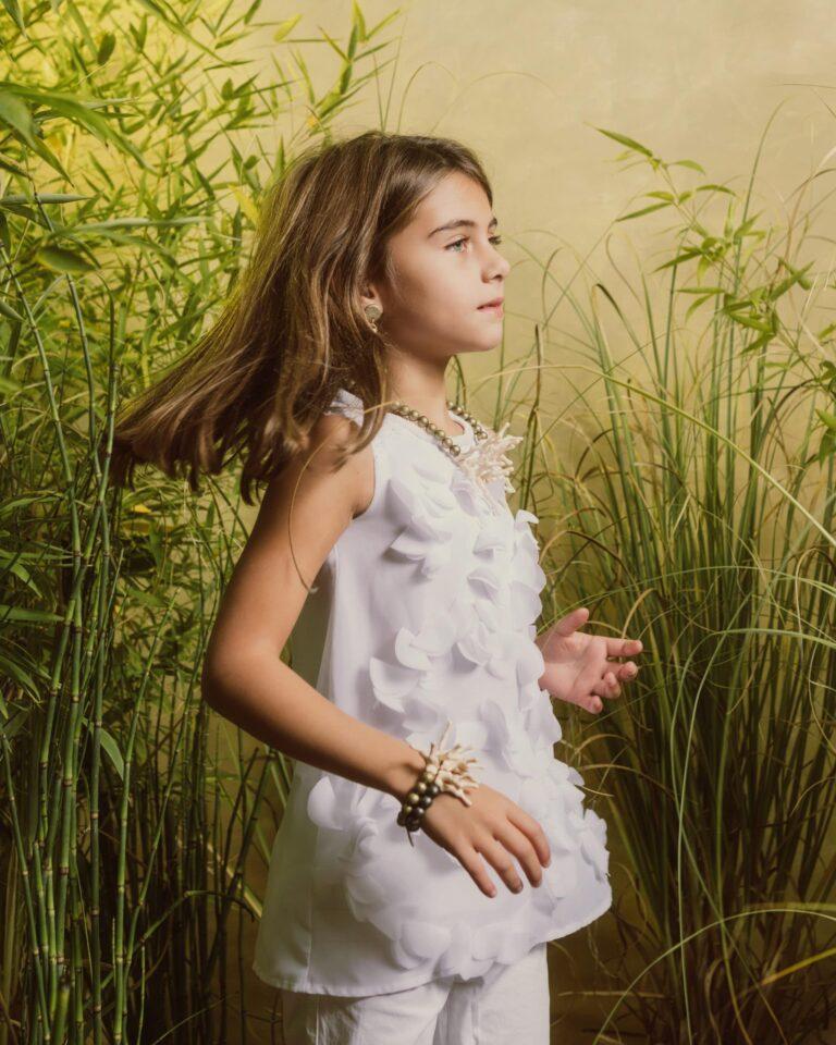 Bracciale Rodio CinziaEsse Girls California Waves Plastica Riciclata